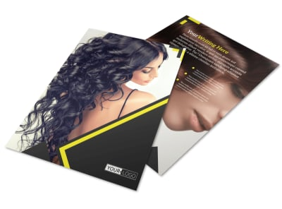 Hair Salon Studio Flyer Template