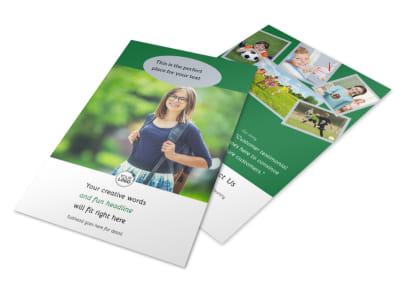Kids Health Flyer Template 3
