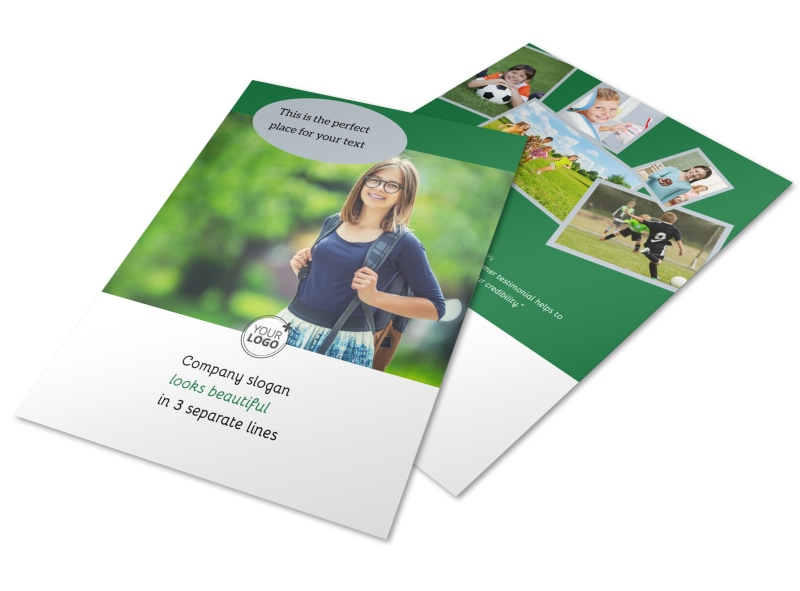 Kids Health Flyer Template