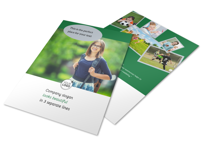 Kids Health Flyer Template Preview 1