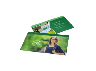 Kids Health Business Card Template preview