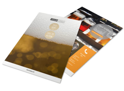 Downtown Brewery Flyer Template