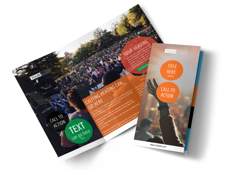 Park Concert Brochure Template Preview 1