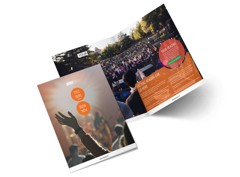 Park Concert Brochure Template Preview 1