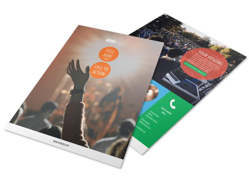 Park Concert Flyer Template Preview 4
