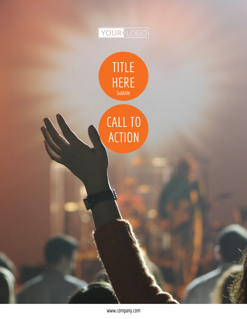 Park Concert Flyer Template Preview 2