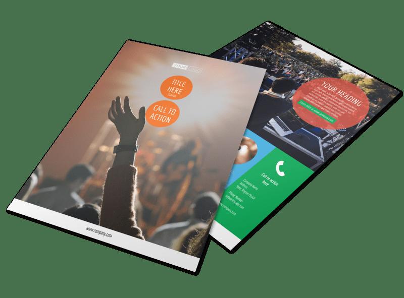 Park Concert Flyer Template Preview 1