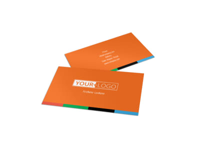 Park Concert Business Card Template preview