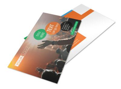 Park Concert Postcard Template 2 preview