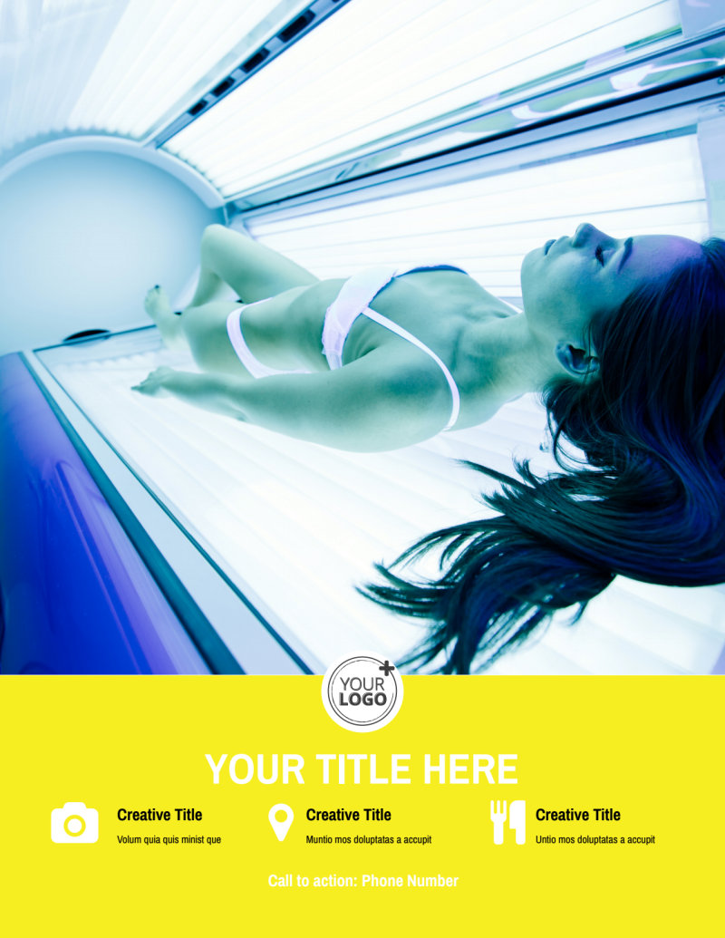 Tanning Package Flyer Template Preview 3