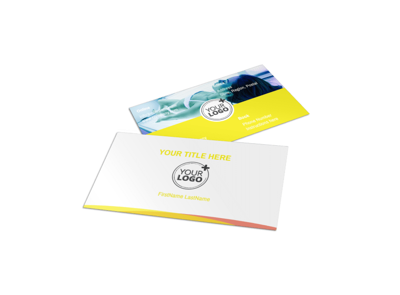 Tanning Package Business Card Template Preview 1