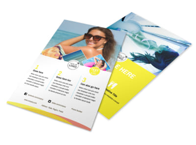 Tanning Package Flyer Template 3