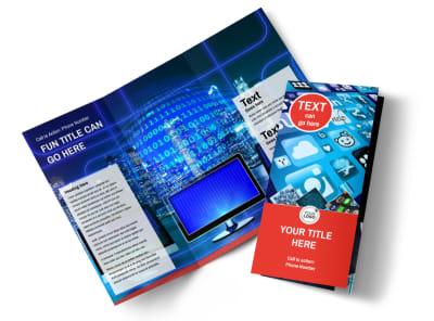 Internet Service Provider Brochure Template preview