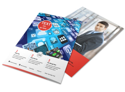 Internet Service Provider Flyer Template
