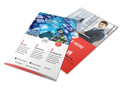 Internet Service Provider Flyer Template 3 preview