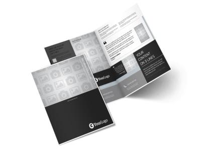 Generic Bi-Fold Brochure Template 3156 preview
