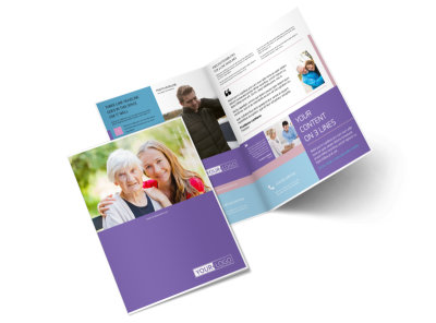 Health Insurance Company Brochure Template 2