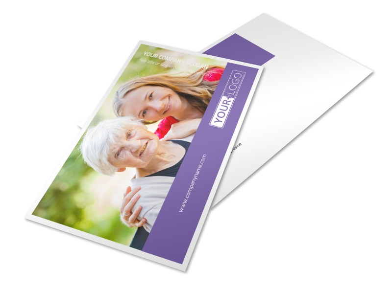 Health Insurance Company Postcard Template 2