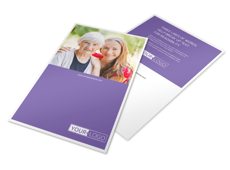 Health Insurance Company Flyer Template 3