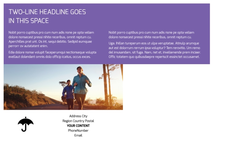 Health Insurance Postcard Template Preview 3