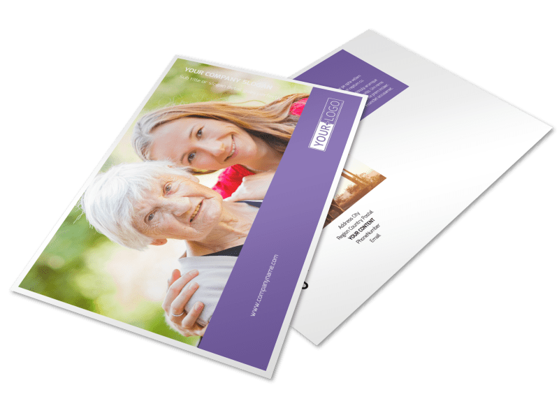 Health Insurance Postcard Template Preview 1