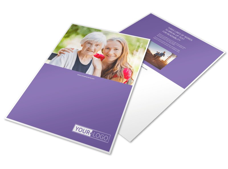 Health Insurance Flyer Template Preview 1
