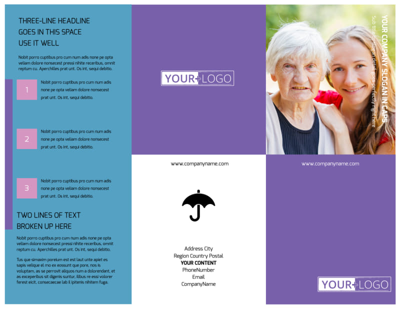 Health Insurance Brochure Template Preview 2