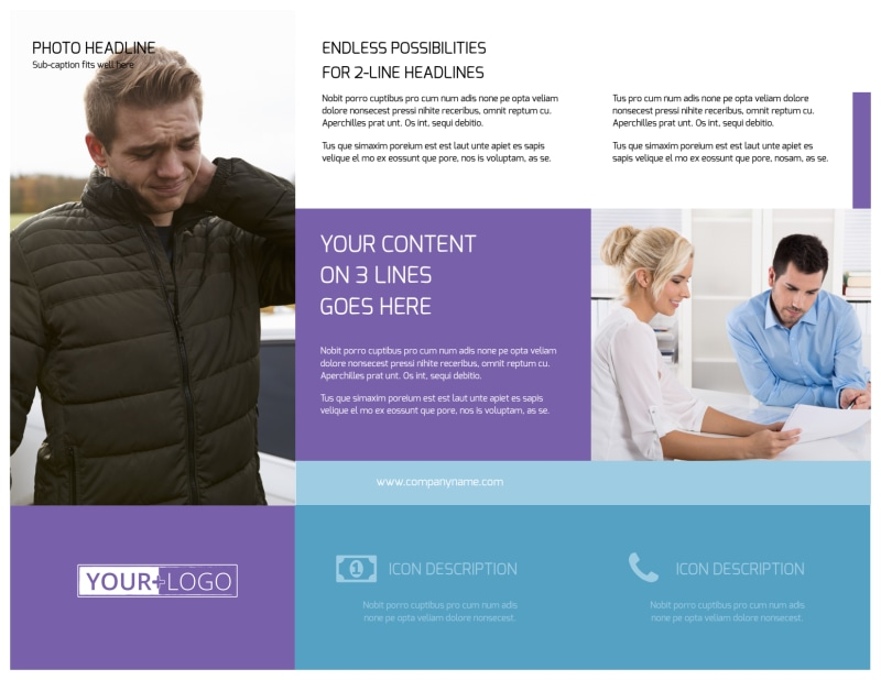 Health Insurance Brochure Template Preview 3
