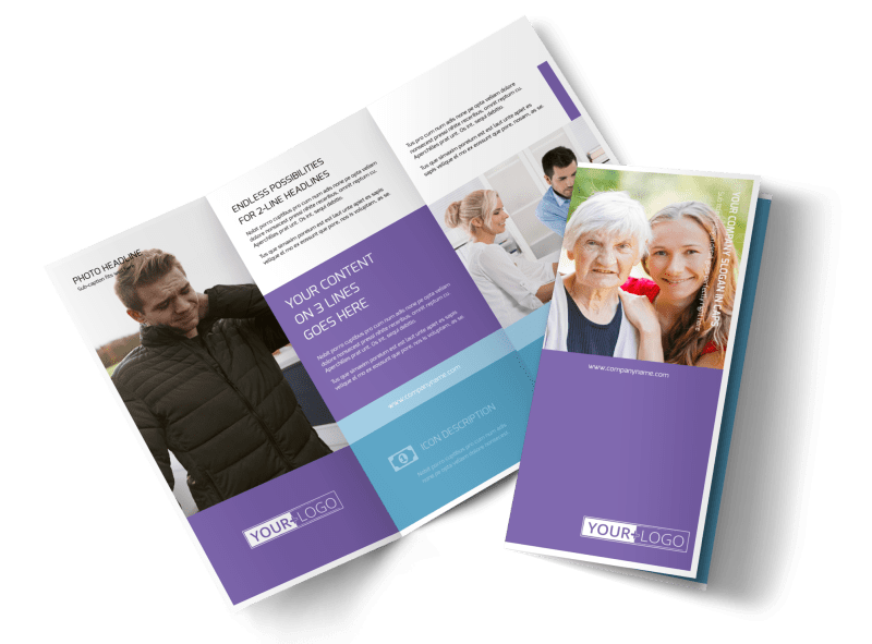 Health Insurance Brochure Template Preview 1