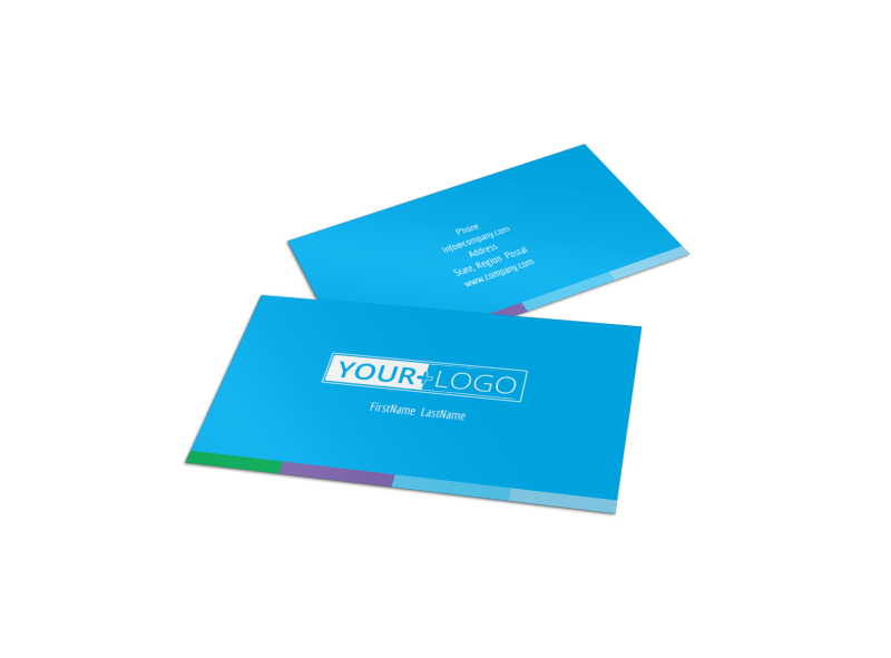 Wash & Detail Business Card Template Preview 1