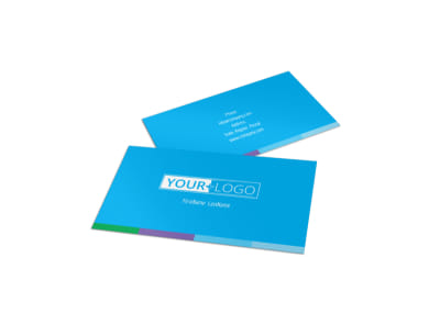 Wash & Detail Business Card Template preview
