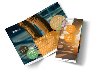 Long Board Class Tri-Fold Brochure Template