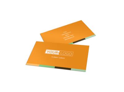 Long Board Class Business Card Template