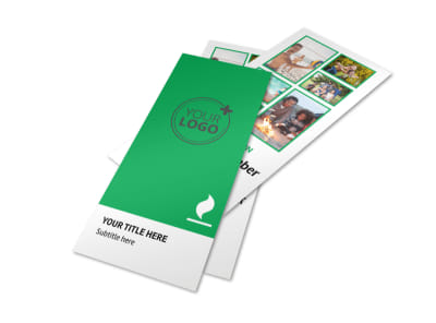 Youth Camp Flyer Template 2