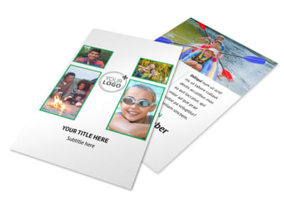 Youth Camp Flyer Template 3 preview