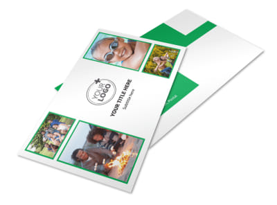 Youth Camp Postcard Template 2 preview