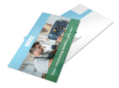 Occupational Health & Safety Postcard Template 2 preview