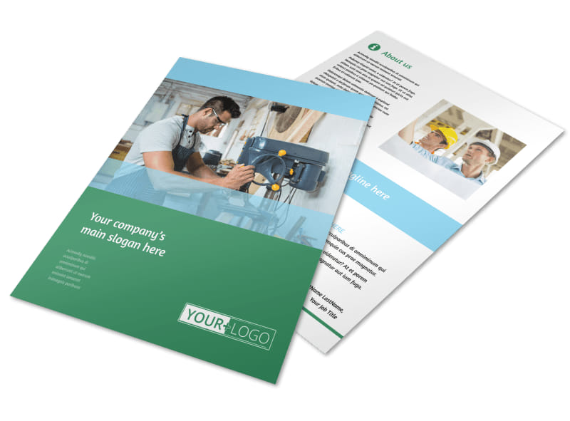 Occupational Health & Safety Flyer Template Preview 4