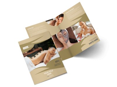 Day Spa & Resort Brochure Template 2