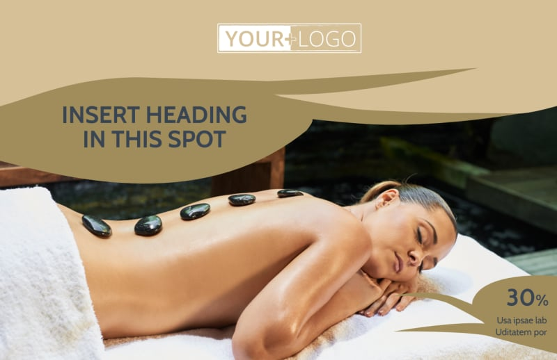 Day Spa Postcard Template Preview 2