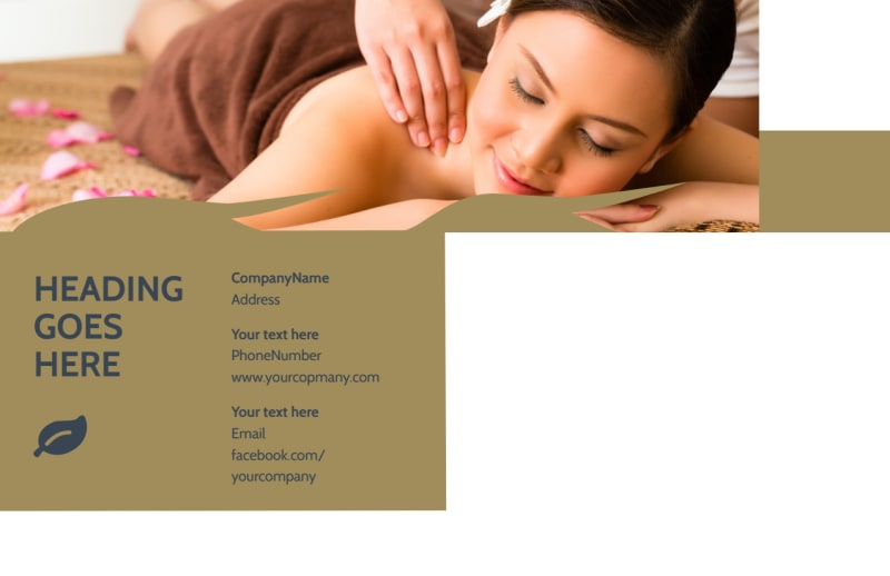 Day Spa Postcard Template Preview 3