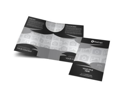 Generic Bi-Fold Brochure Template 3214