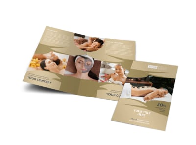 Day Spa Brochure Template MyCreativeShop - Spa brochure templates