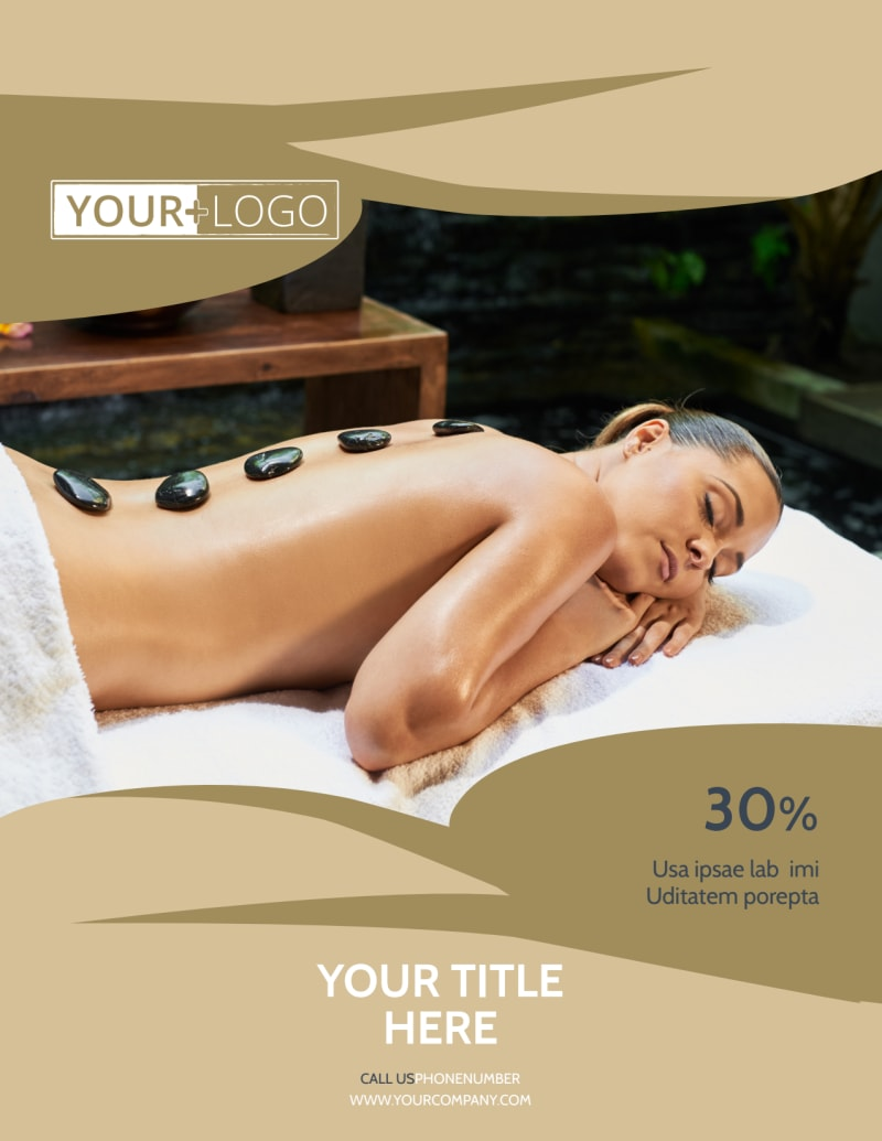 Day Spa Flyer Template Preview 2
