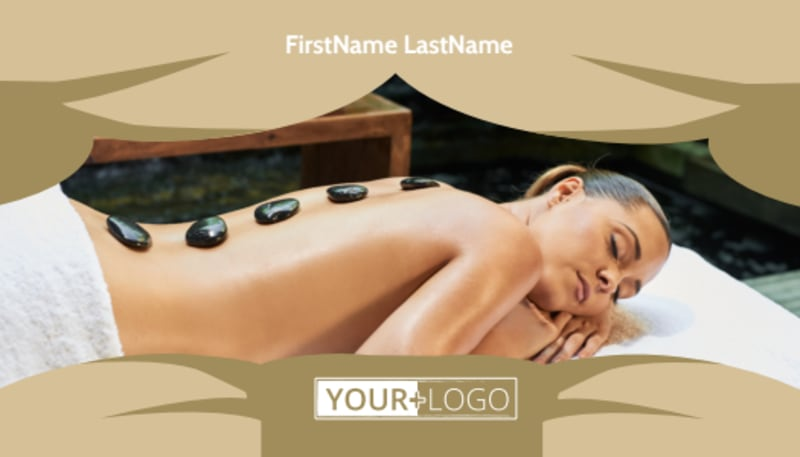Day Spa Business Card Template Preview 2