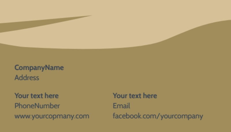 Day Spa Business Card Template Preview 3