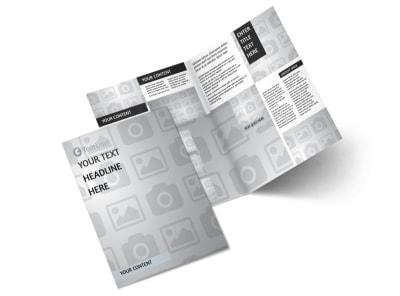 Generic Bi-Fold Brochure Template 3219