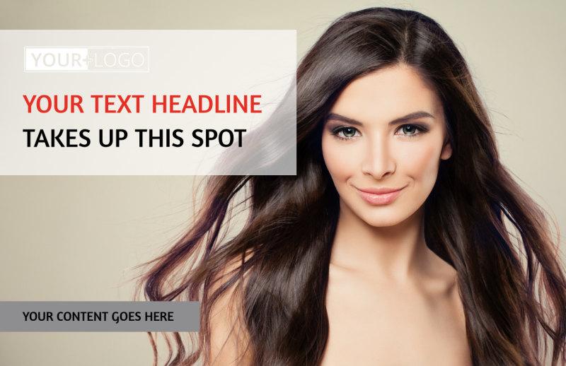 Hair Salon Postcard Template Preview 2