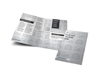 Generic Bi-Fold Brochure Template 3223
