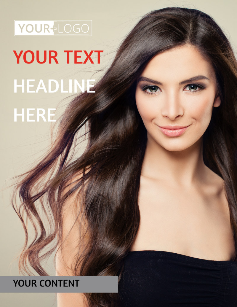 Hair Salon Flyer Template Preview 2